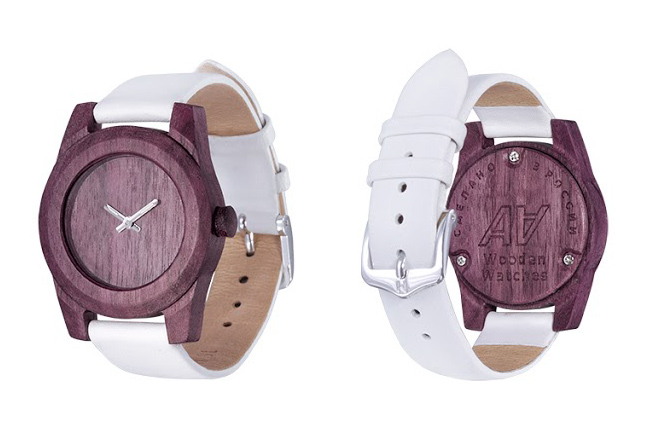 AA Wooden Watches_W1amarant
